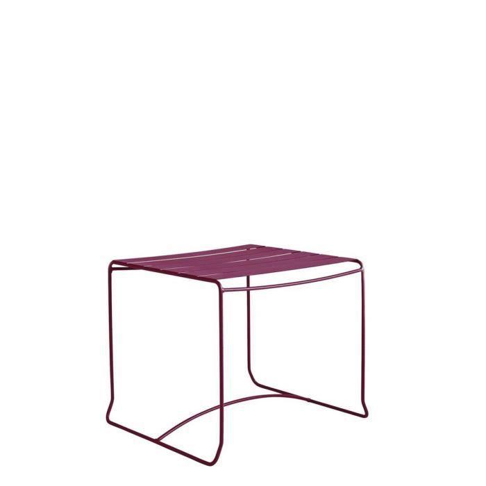 Table Basse De Jardin M Tal 50x50 Pasadena Couleur