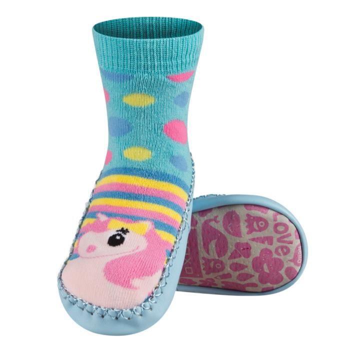 chaussettes par lot bleu licorne achat vente chaussettes cdiscount. Black Bedroom Furniture Sets. Home Design Ideas