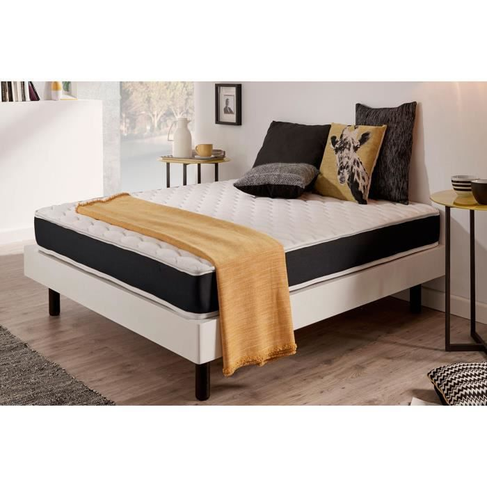matelas ergo system 90x190 cm blue latex 7 zones de. Black Bedroom Furniture Sets. Home Design Ideas
