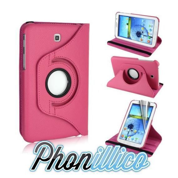 coque samsung galaxy tab 3 7 0 lite rose housse prix pas cher cdiscount. Black Bedroom Furniture Sets. Home Design Ideas