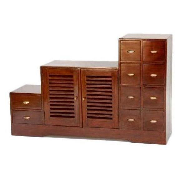 meuble escalier tv gm colonial droit achat vente. Black Bedroom Furniture Sets. Home Design Ideas