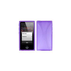 Ipod nano violet achat vente ipod nano violet pas cher for Housse ipod nano 7