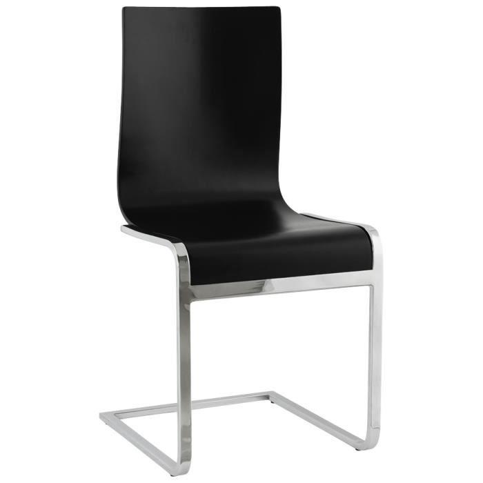 Chaise design de salle manger 39 jack 39 en bois achat for Soldes chaises salle a manger