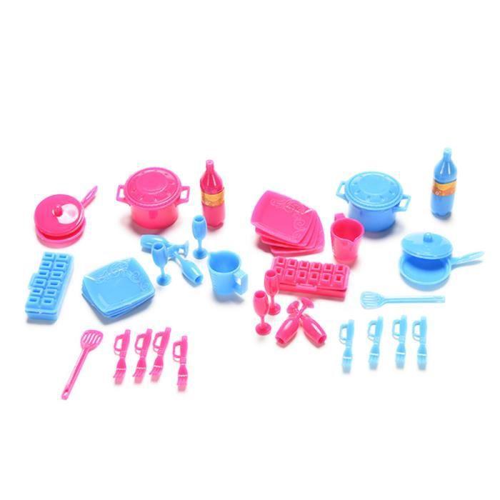 Accessoires cuisine barbie for Accessoire vaisselle