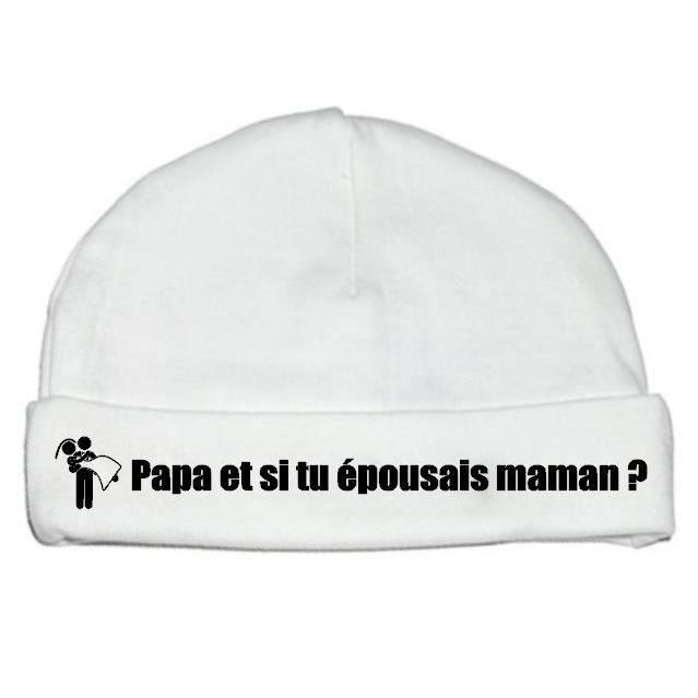Cadeau Naissance Papa Cadeau Naissance Bonnet Bébé