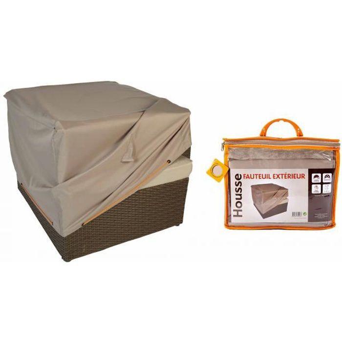 housse de protection pour fauteuil de jardin achat vente housse meuble jardin housse pour. Black Bedroom Furniture Sets. Home Design Ideas