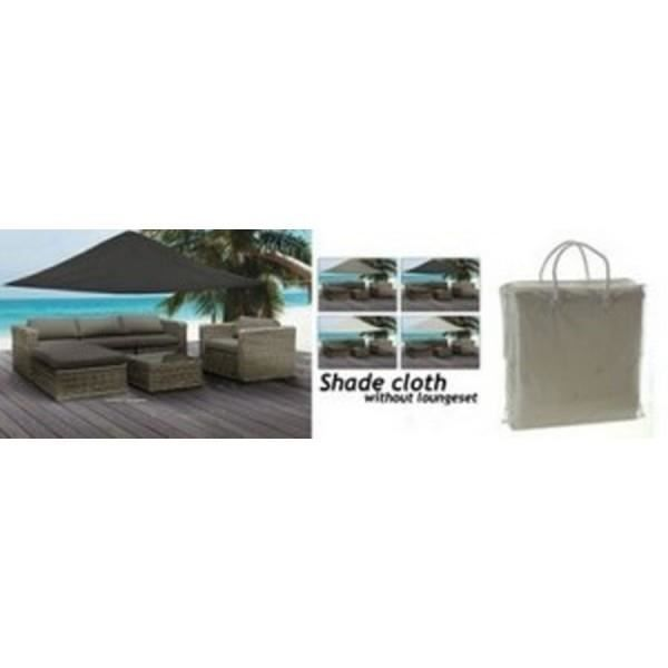 toile ombrelle parasol pour jardin 5x5x5m achat vente toile de parasol toile ombrelle. Black Bedroom Furniture Sets. Home Design Ideas