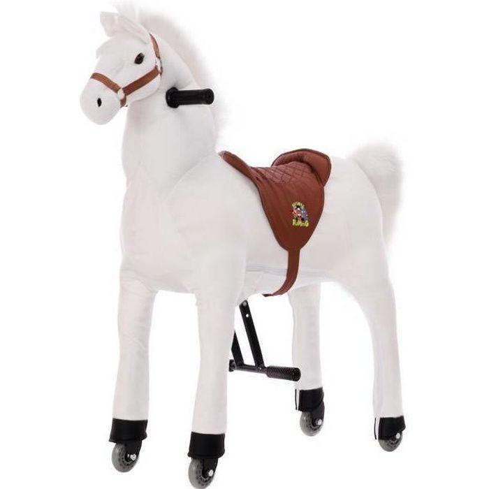 Cheval blanc de 93 cm monter poids max 65kg achat for Le jardin qui bascule 1975