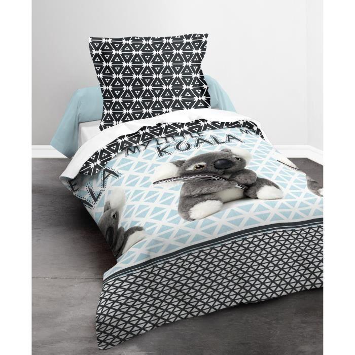 housse de couette panda achat vente housse de couette panda pas cher cdiscount. Black Bedroom Furniture Sets. Home Design Ideas