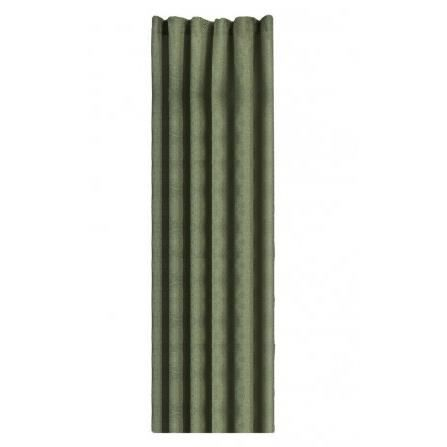 Rideau de douche en tissu vert avec liner achat vente for Rideau de douche en tissu