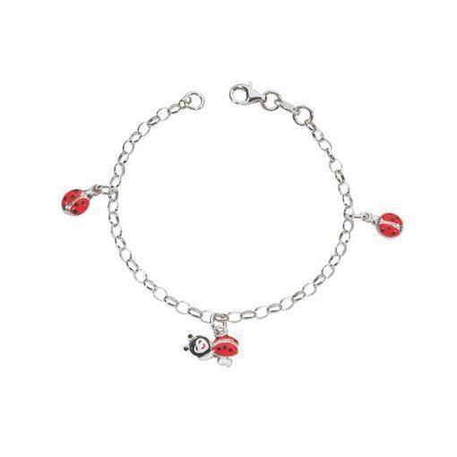 bracelet en argent coccinelle achat vente bracelet gourmette bracelet en argent coccine. Black Bedroom Furniture Sets. Home Design Ideas
