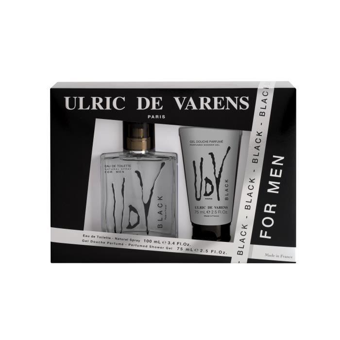 PARFUM  ULRIC De VARENS Coffret Black (x1)