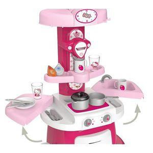 cuisine enfant hello kity achat vente jeux et jouets pas chers. Black Bedroom Furniture Sets. Home Design Ideas