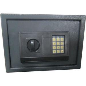 WORKMEN SECURITY Coffre fort électronqiue ? code 16L 25x35x25 cm