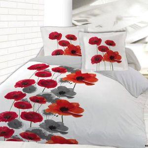 Parure de drap flanelle achat vente parure de drap flanelle pas cher cdiscount - Parure de lit en flanelle 2 personnes ...