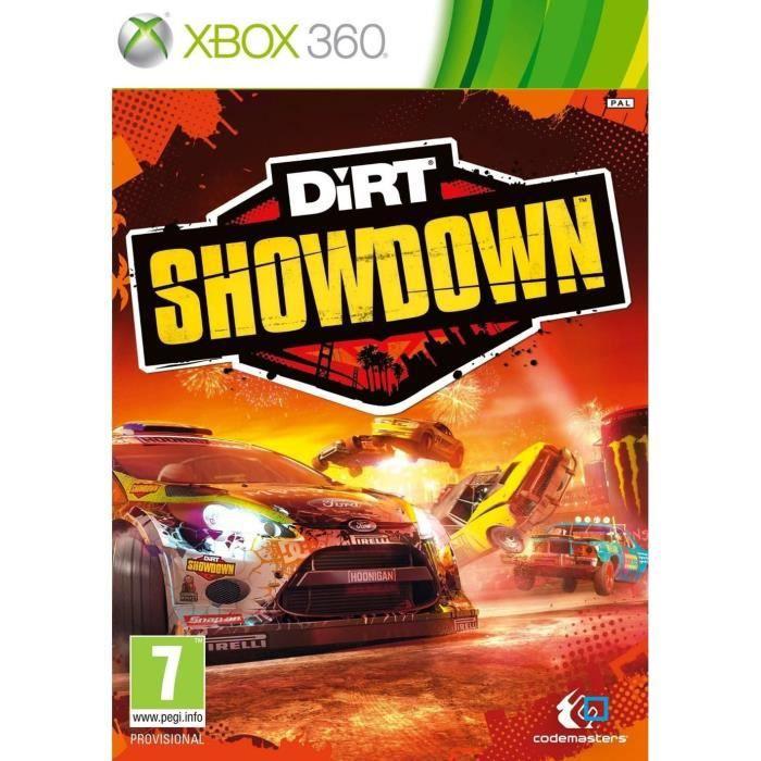 dirt showdown jeu console xbox 360 achat vente jeux xbox 360 dirt showdown jeu xbox 360. Black Bedroom Furniture Sets. Home Design Ideas