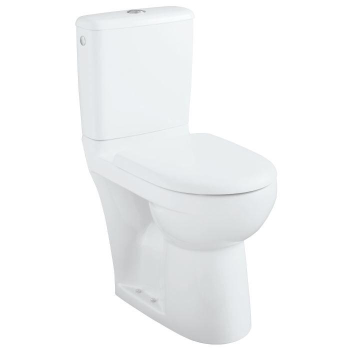 pack wc sur lev complet royan banco c ramique sortie horizontale hauteur 885 mm blanc. Black Bedroom Furniture Sets. Home Design Ideas
