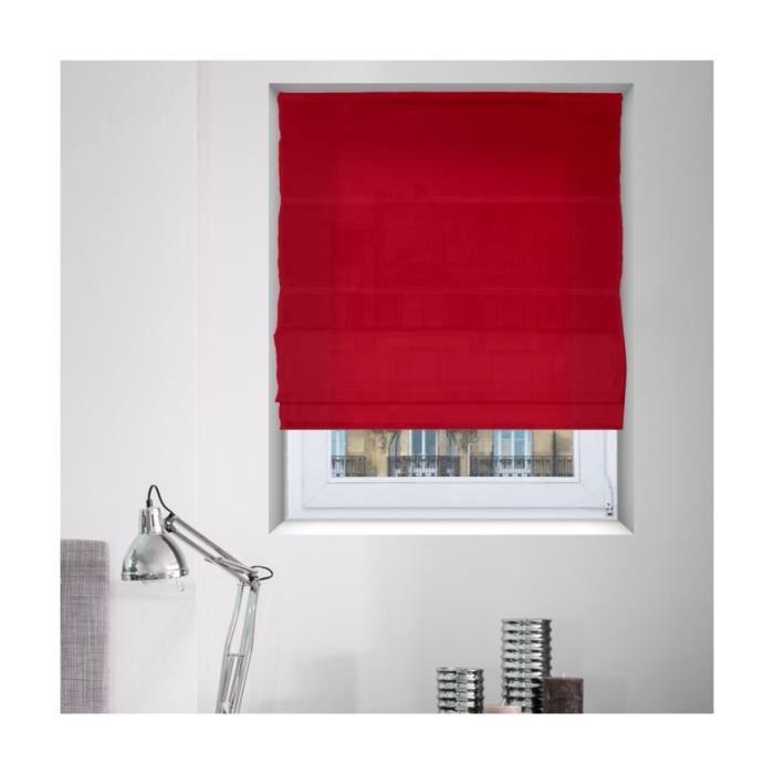 store bateau tamisant rouge achat vente store de fen tre cdiscount. Black Bedroom Furniture Sets. Home Design Ideas