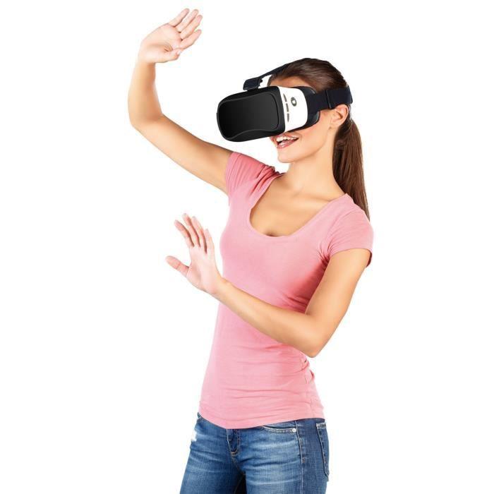 lunettes de r alit virtuelle 3d pour smartphone avec commandes bluetooth lunettes 3d avis et. Black Bedroom Furniture Sets. Home Design Ideas