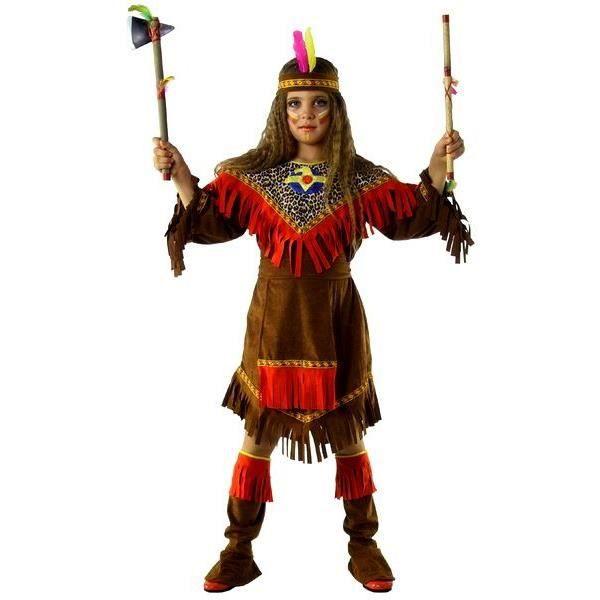 D guisement de fille indienne ge 8 ans achat vente d guisement panoplie cdiscount - Deguisement cowboy fille ...