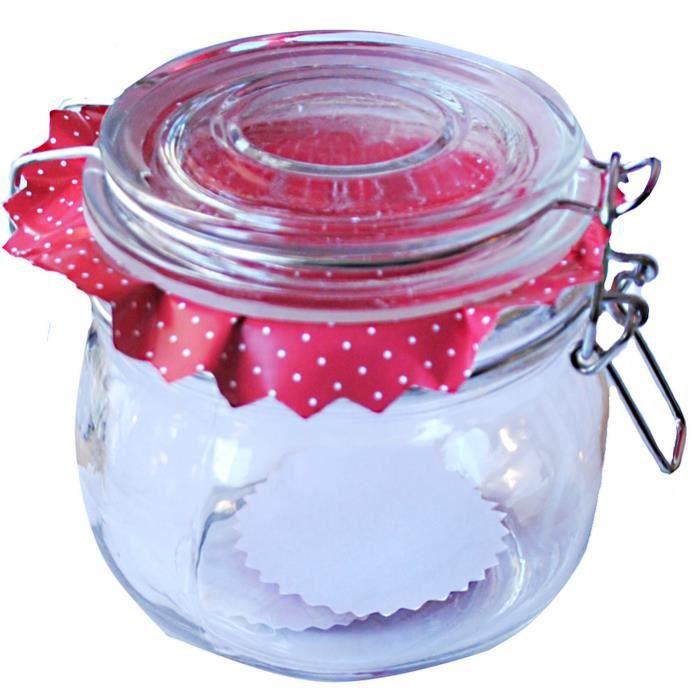 1 pot a confiture etiquette rouge 500 ml rond tr achat vente bocaux 1 pot a confiture. Black Bedroom Furniture Sets. Home Design Ideas