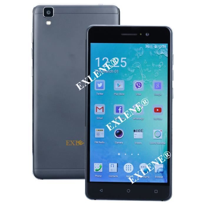 exlene unlocked 5 5 pouces android 5 1 smartphone mtk6580 quad core 1 3ghz 512mb ram 8gb rom 3g. Black Bedroom Furniture Sets. Home Design Ideas