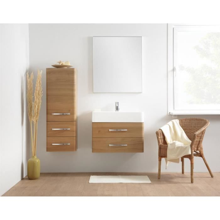 justhome cherry ensemble salle de bain en bois de cerise achat vente salle de bain complete. Black Bedroom Furniture Sets. Home Design Ideas