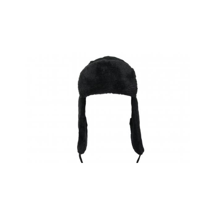 la clef des marques lcdm chapka torsad e femme noir achat vente bonnet cagoule. Black Bedroom Furniture Sets. Home Design Ideas