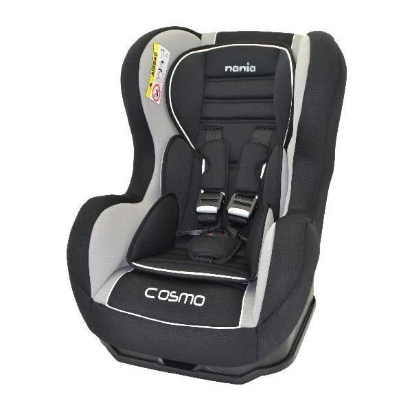nania cosmo sp isofix luxe agora black si ge achat vente si ge auto r hausseur nania. Black Bedroom Furniture Sets. Home Design Ideas