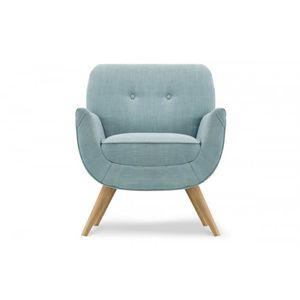 fauteuil vintage bleu achat vente fauteuil vintage bleu pas cher cdiscount. Black Bedroom Furniture Sets. Home Design Ideas