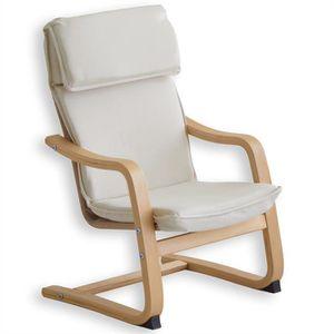 Fauteuil beige achat vente fauteuil beige pas cher cdiscount - Fauteuil relax enfant ...