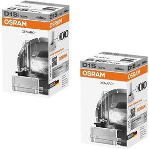 AMPOULE TABLEAU BORD 2 AMPOULE XENON OSRAM D1S XENARC 35W 66140 CLC