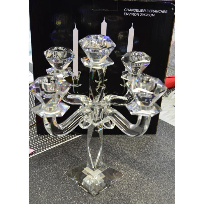 chandelier en cristal 5 branches achat vente d cors de. Black Bedroom Furniture Sets. Home Design Ideas