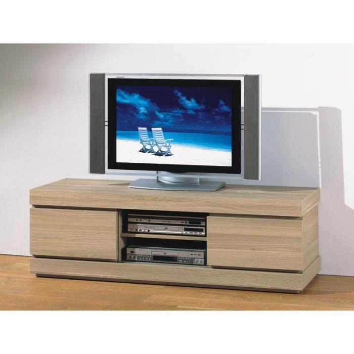 Meuble tv hifi vid o 150 cm riri l 150 x p 48 x h 48 cm - Meuble tv 150 cm ...