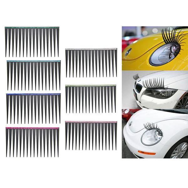 paire de cils pour phares optiques yeux de voiture achat vente kit habillage int rieur paire. Black Bedroom Furniture Sets. Home Design Ideas