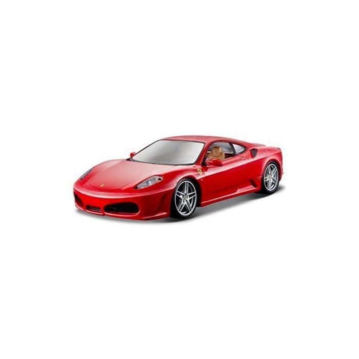 mod le r duit de voiture de sport ferrari rp f430 rouge echelle 1 24 achat vente voiture. Black Bedroom Furniture Sets. Home Design Ideas