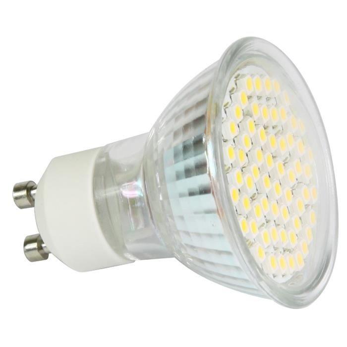 ampoule spot led gu10 3w achat vente ampoule led. Black Bedroom Furniture Sets. Home Design Ideas