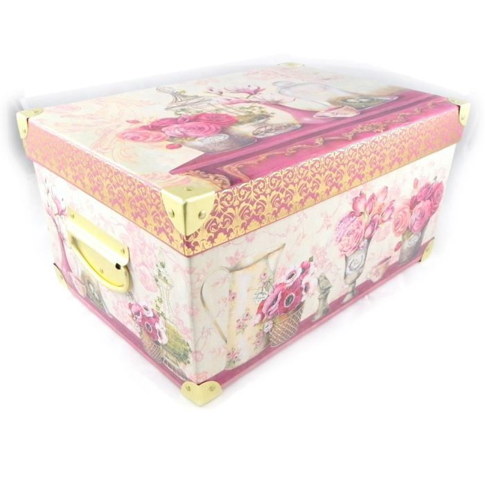 Bo te souvenirs jardin des plantes rose achat for Boite couture curver