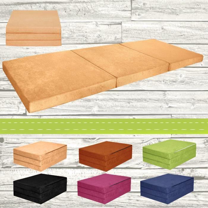 chauffeuse couchage d 39 appoint matelas plient lit d 39 invit. Black Bedroom Furniture Sets. Home Design Ideas