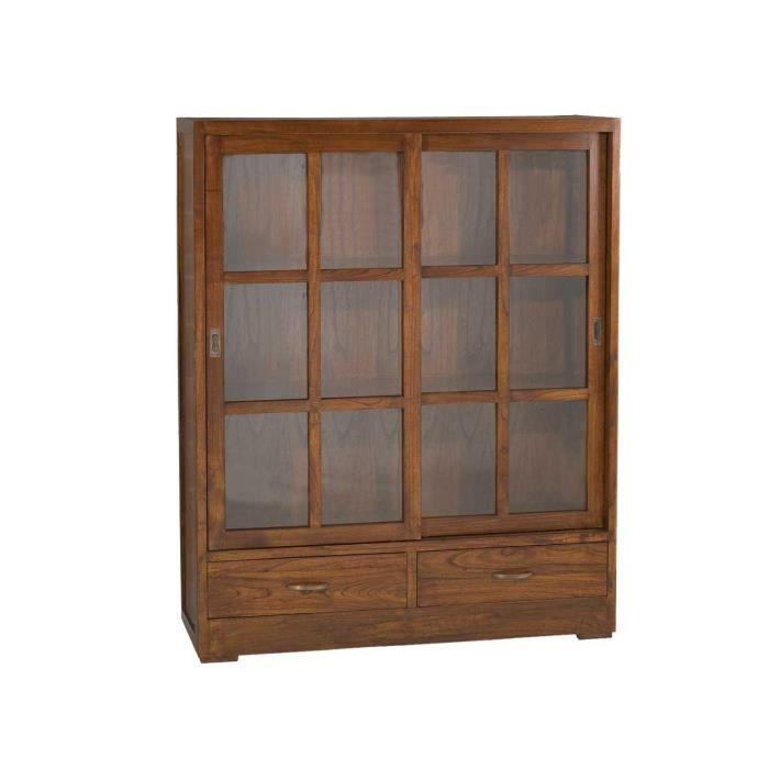 biblioth que 2 portes vitr es faible profondeur pictures to pin on pinterest. Black Bedroom Furniture Sets. Home Design Ideas