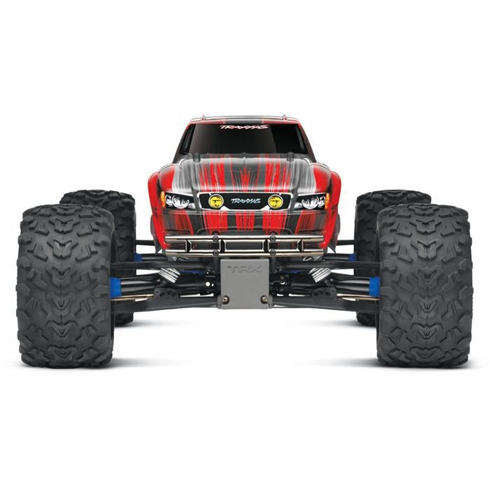 traxxas brushless 1 10e 4wd monster truck achat vente voiture construire cdiscount. Black Bedroom Furniture Sets. Home Design Ideas