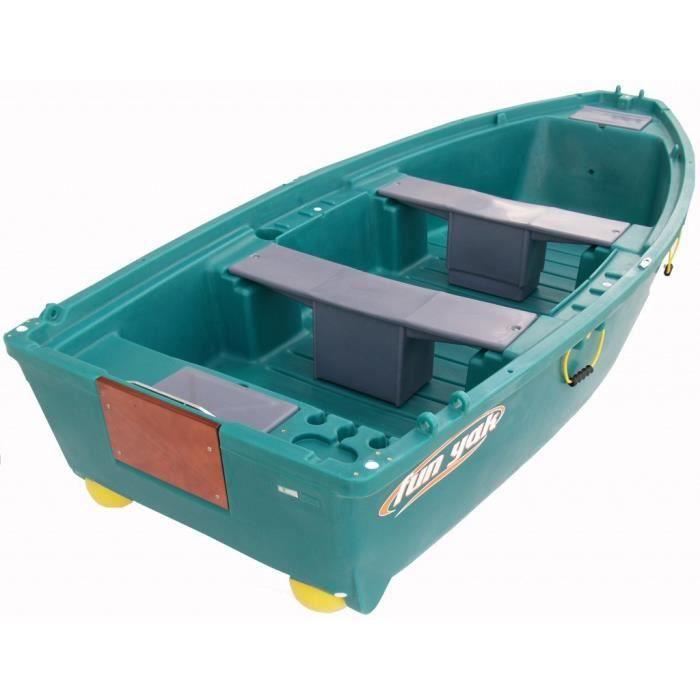 Fun yak barque plastique 3 50m prix pas cher cdiscount for Wohnlandschaft 2 50 m