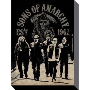 Tableau sons of anarchy achat vente tableau sons of for Poster sur toile