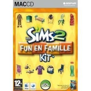 JEU PC Les Sims 2 Kit Fun en Famille Jeu Mac