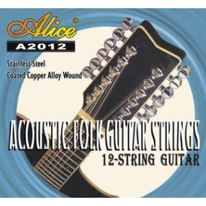 CORDE POUR INSTRUMENT Jeu de 12 cordes pour GUITARE Folk & Electrique…