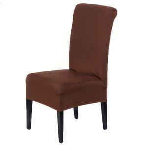 housse de chaise achat vente housse de chaise pas cher. Black Bedroom Furniture Sets. Home Design Ideas