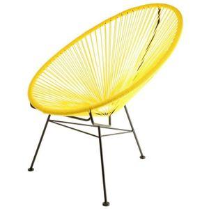 fauteuil fils plastique achat vente fauteuil fils plastique pas cher les soldes sur. Black Bedroom Furniture Sets. Home Design Ideas