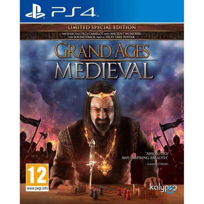 grand ages medieval jeu ps4 achat vente jeu ps4 grand ages medieval ps4 cdiscount. Black Bedroom Furniture Sets. Home Design Ideas