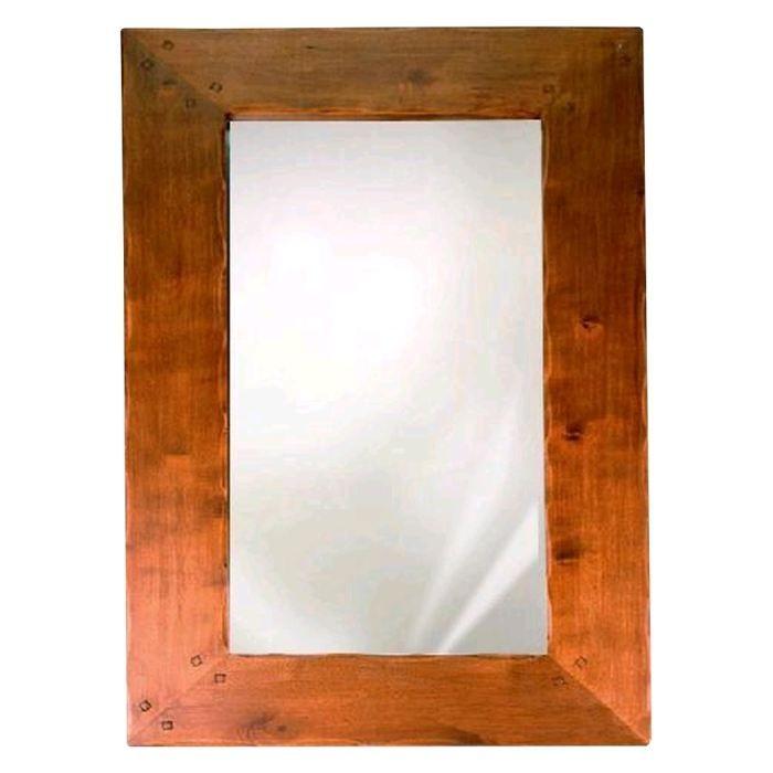 Miroir mural hevea pm achat vente miroir h v a massif for Achat miroir mural