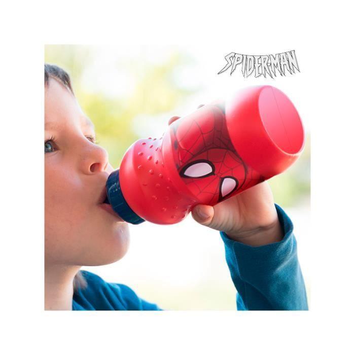gourde pour enfants spiderman noir prix pas cher soldes cdiscount. Black Bedroom Furniture Sets. Home Design Ideas